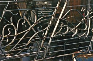 Horta Railing, detail by ou8nrtist2