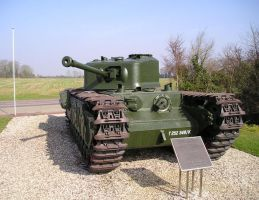 Churchill Infantry Tank by ebarr