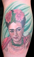 Frida kahlo Portrait. by madamelazonga