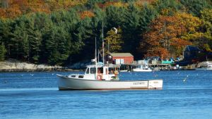 Lobstering on the Sheepscot by SlateGray