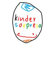 Cabeza de Kinder Sorpresa by andy-chopila