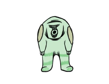 Microbian Character by Hyperchip