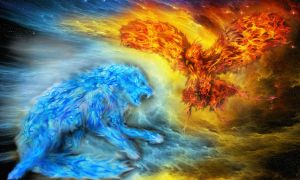 Ice Vs Fire by ev-r-more578