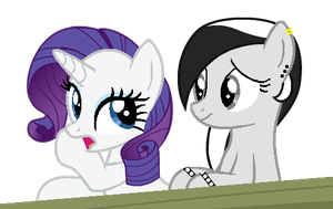 Rarity And Shadow by evemetalchick