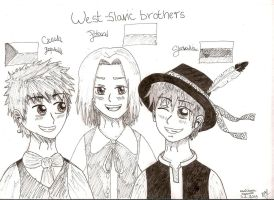 West-slavic brothers :) by blcha128
