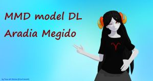 MMD: Aradia Megido DL by Tear-off-Sticker
