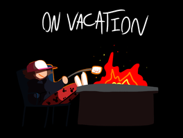 On Vacation by NoneToon
