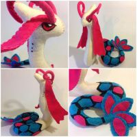 Milotic Collage by HumingBean
