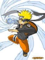 Naruto - Flying Rasengan by Gevurah