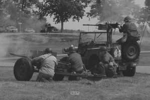 WW2 Re-enactment 8/9/2014 2:43PM Iola WI by Crigger