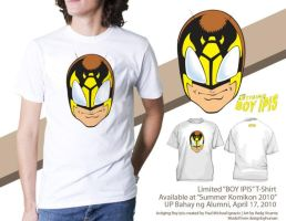 BOY IPIS HEAD SHOT SHIRT by astigingboyipis