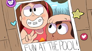 Fun at the poo by Talarik