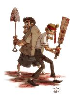 Shaun of the Dead by OtisFrampton