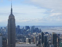 Empire State Building by r-a-i-n-y