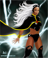 Storm: Icon by Lightengale