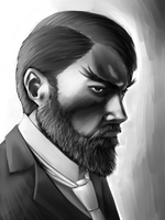 Speed Paint: Beard by Chuck-Nothing