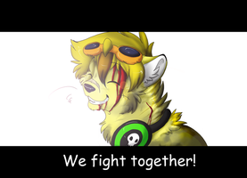 we fight together by Rhass
