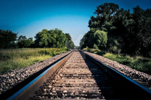 Union Pacific RR: On the Right Track (gritty) by dEfyant