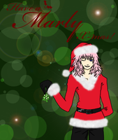 Have a Marly x-mas! by Kozekito
