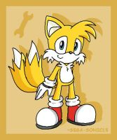 """MILES """"TAILS"""" PROWER by SEGA-Sonic15"""