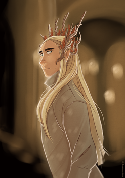 Elvenking by Inimeitiel-chan