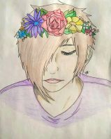Flower Crown Cas by OneWingedNekoCas