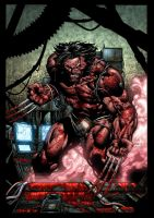 Oh bloody hell Wolverine by xXNightblade08Xx