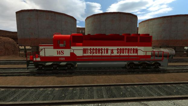 Gmod SD40-2 Side by TheSniperKid