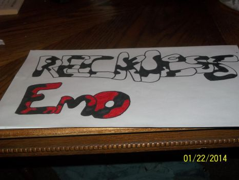 Reckless Emo by EmoXDancer
