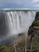 Victoria Falls the bottom by Shapony