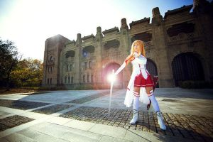 Attack on Titan Asuna Cosplay is coming again by boomjoy