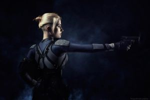 Mortal Kombat X - Cassie Cage cosplay by Narga-Lifestream