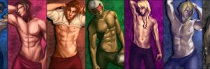 Turnabout Fanservice-Men by Beverii