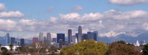 Los Angeles skyline by shelly349
