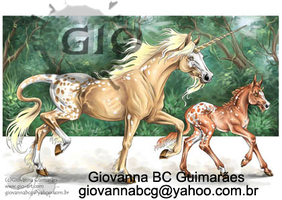 Appaloosa Unicorns by giovannag