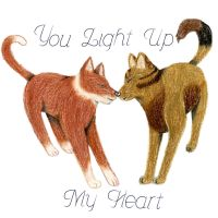 I Just Wanted You To Know, You Light Up My Heart by lalalalalaImaAnimal