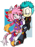 Valerie and T.O.D .:Commission:. by Pendulonium