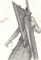 Pyramid Head by gemogirl98