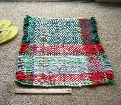 Recycled Jersey Cotton Rug by BabyWolverine