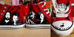 The Killers Converse by HFlores