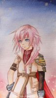 Lightning Farron by Kida-kun