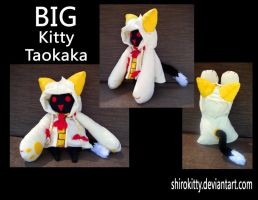 Big Taokaka Kitty Plush by Shirokitty