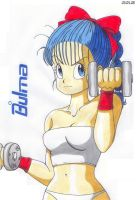 Bulma makes Fitness by Worson2009