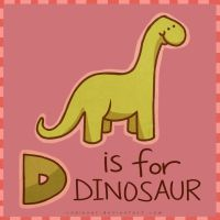 D is for Dinosaur by CodiBear