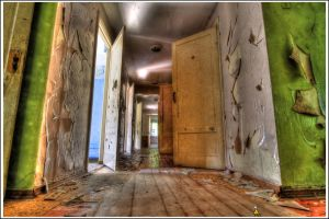 In abandoned house by coolmacc