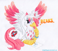 Hippogriff Beaks! by TwilightFlopple