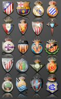 La Liga Icons by sarumonera