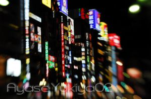 bright lights of shinjuku2 by AyaseYukiya02