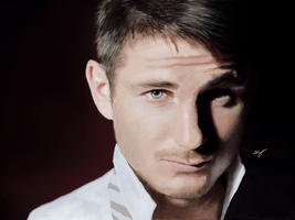 Frank Lampard Portrait by Adrian-Alastair