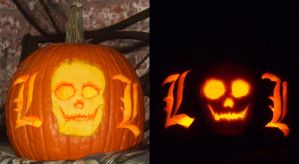 L-o-L Pumpkin by ElvenDeathMarch